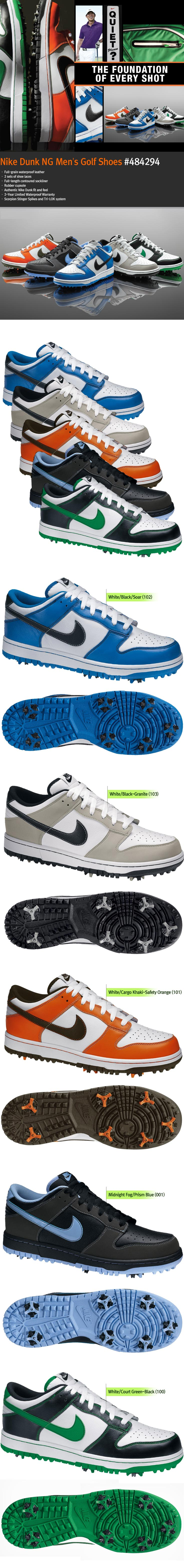 the best attitude 63f8a b0d84 NIKE Dunk NG Men s Golf Shoes - Shoes